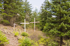 Colored crosses Royalty Free Stock Photography