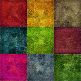 Colored cube background, space for text Royalty Free Stock Photos
