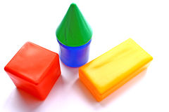 Colored cubes. Stock Image