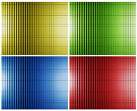 Colored Cubes Stock Images