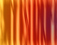 Colored Curtain Royalty Free Stock Photos