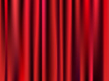 Colored Curtain. Beautiful and elegance colored curtain or textile Stock Photo