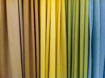 Colored Curtains Royalty Free Stock Image