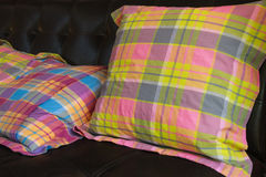 Colored cushions Stock Photography