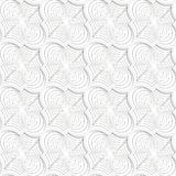 Colored 3D gray twisted diagonal Marrakech Royalty Free Stock Photography