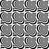 Colored 3D gray twisted diagonal Marrakech Stock Images