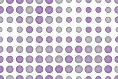 Shape background pattern, good for graphic design. Illustration, collection, creative & mosaic. Colored 3D sphere, circle or ellipse pattern for design Royalty Free Stock Images
