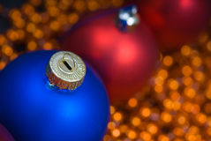 Colored decoration for Christmas Stock Photos