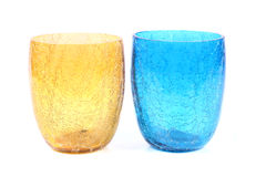 Colored decoration glasses Stock Photo