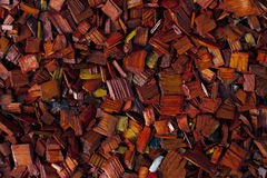 Colored Decorative Chip. Colored decorative wood chip mulch grunge background Royalty Free Stock Photography