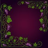 Colored decorative frame Stock Image