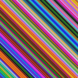 Colored diagonal line pattern background Royalty Free Stock Photos