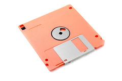Colored diskette. Royalty Free Stock Photography