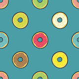 Colored donuts Royalty Free Stock Photo