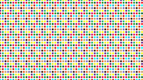 Colored dots background. With a lot of colors, red, green, yellow, brown, purple, pink, orange and more Stock Image