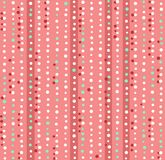 Colored dots, lights, seamless background, abstract, pink, vector. White, green and red dots on a pink field. Abstract color decor Royalty Free Stock Image