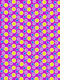 Colored Dots on White Dots Purple Royalty Free Stock Photos