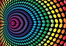 colored dotted space Στοκ Φωτογραφίες