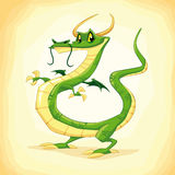 Colored dragon. Stock Images