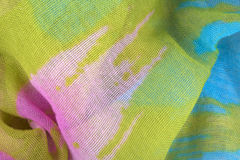 Colored draped fabric Royalty Free Stock Photos