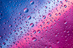 Colored drops Stock Photography