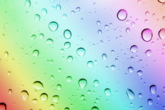 Colored drops Royalty Free Stock Photography