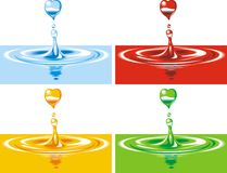 Water  background Stock Photos