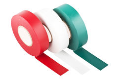 Colored duct tape Stock Images