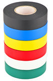 Colored duct tape Royalty Free Stock Image