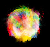 Colored dust ball Stock Photos
