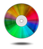 Colored DVD Royalty Free Stock Photos
