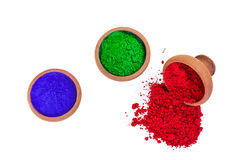 Colored Dyes Royalty Free Stock Photos