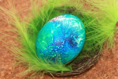 Colored Easter egg Stock Photography