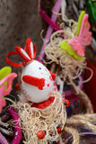Colored Easter egg Royalty Free Stock Photos