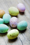 Colored easter eggs