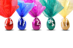 Colored easter eggs. The image Colored easter eggs is great for your job Stock Photo