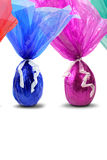 Colored easter eggs. The image Colored easter eggs is great for your job Royalty Free Stock Image