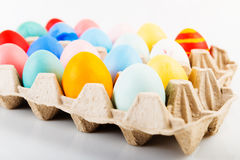 Free Colored Easter Eggs Stock Photos - 65643043