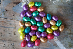 Colored easter eggs Royalty Free Stock Photos