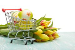 Easter shopping. Stock Image