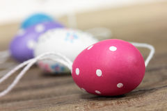 Colored easter eggs Royalty Free Stock Photo
