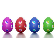 Colored Easter time Stock Photo