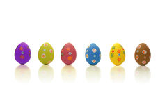 Colored Easter time Royalty Free Stock Photos