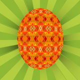 Colored egg background Royalty Free Stock Photography
