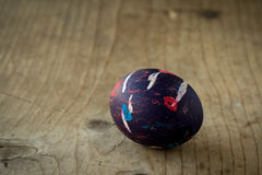 Colored egg Royalty Free Stock Photography