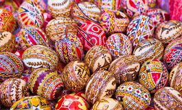 Colored eggs Royalty Free Stock Photos