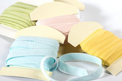 Colored elastic straps Royalty Free Stock Image