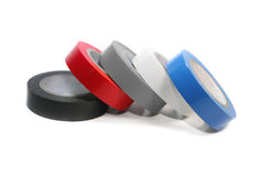 Colored electrical tape Stock Photography