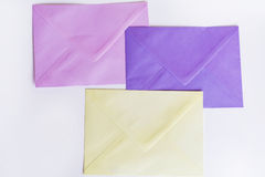 Colored Envelopes Royalty Free Stock Photos