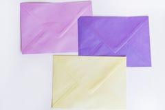 Colored Envelopes Royalty Free Stock Photos
